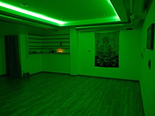 custom-designed studio